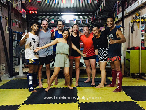 Muay Thai for Women - Kru Lek Muay Thai Ao-Nang Krabi